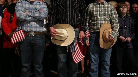 Romney rally in Colorado