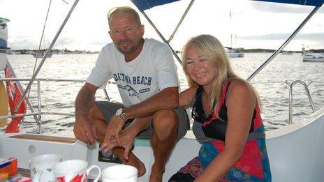 Stephen Jones and Tanya Davies