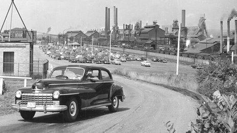 Ohio steelworks