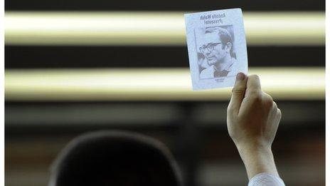 """A picture of one of Argentina's """"disappeared"""""""