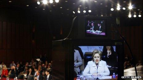 Televised senate committee