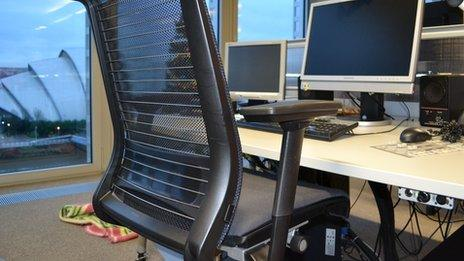 Get out of the chair as often as possible says Dr Westbury