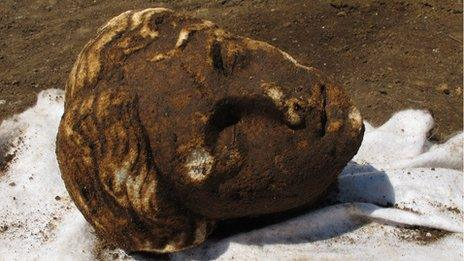 The head of Niobe