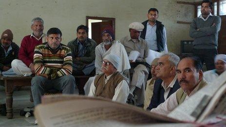 A meeting of elders in Haryana