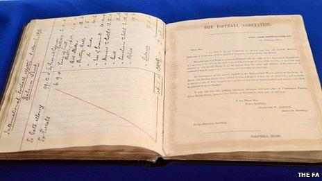 FA original rule book