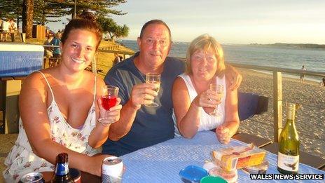 Paul Marshallsea with family
