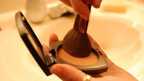 A make up brush
