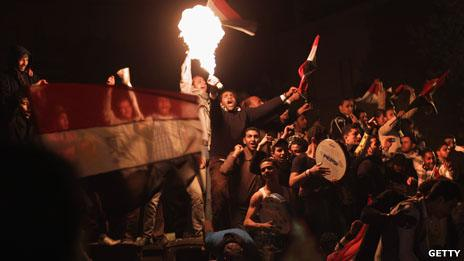 Election celebrations in Egypt