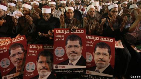 Mohammed Mursi supporters