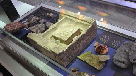 Artefacts found in the Greyfriars
