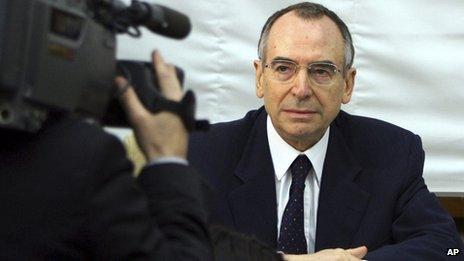 Nicolo Pollari in a 2006 file photo