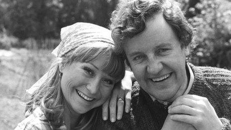 Richard Briers as Tom and Felicity Kendal as Barbara.