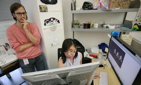 Designers at Google HQ
