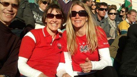 Sara Hinds and Amanda Bartlett