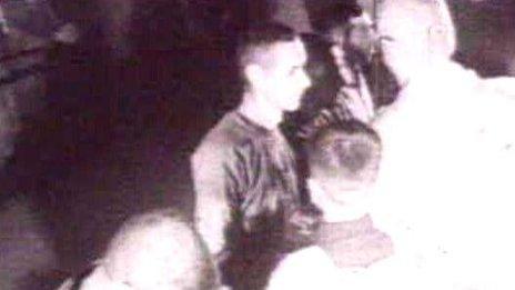 Pete Peterson visible in a Korean propaganda film