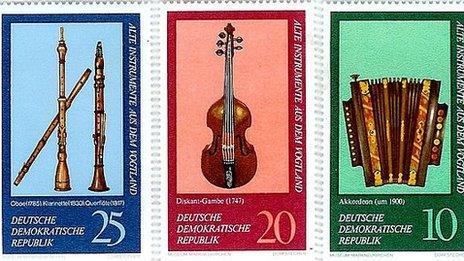 East German Stamps