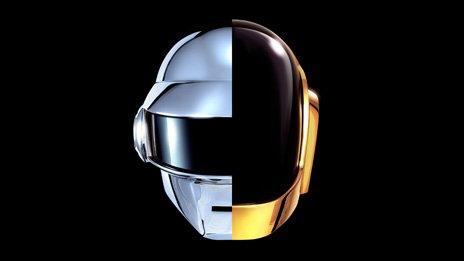 Daft Punk's album cover for Random Access Memories