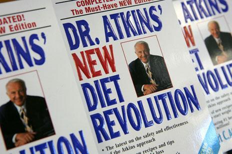 Dr Atkins' New Diet Revolution paperbacks