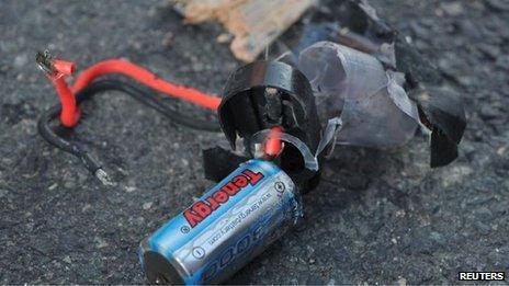 Part of explosive device found in Boylston Street, Boston
