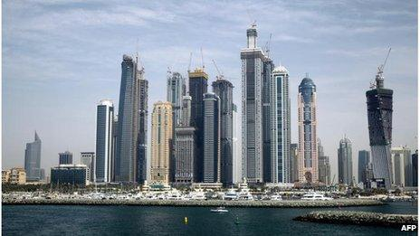 Dubai skyline (file photo)