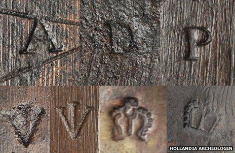 Musket markings