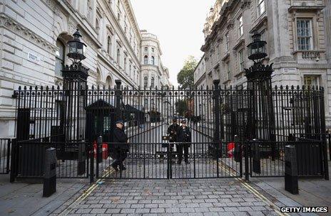 Downing Street gates