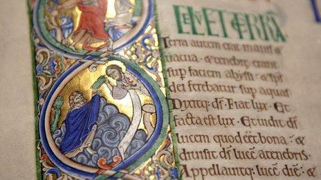Illustrated manuscript