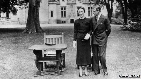 The Duke and Duchess of Windsor pictured in May 1937
