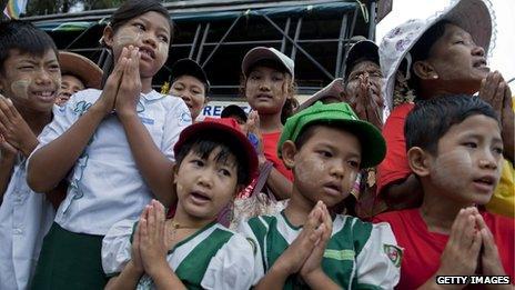 Burma land grab