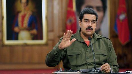 President Nicolas Maduro, 4 June 13