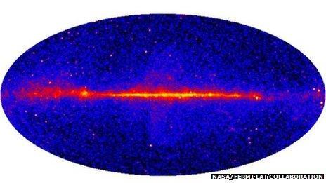 Fermi >10GeV all-sky map