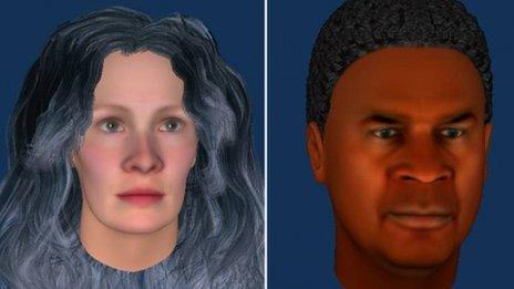 Examples of avatars created by patients during the pilot study