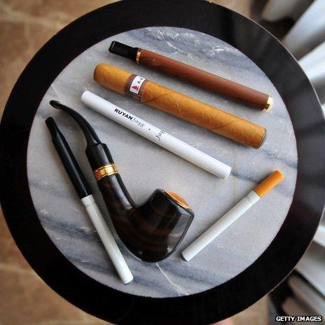 Different types of electronic cigarette