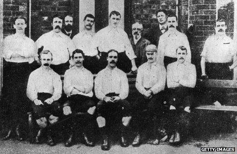 Preston North End in 1889