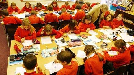 Primary classroom