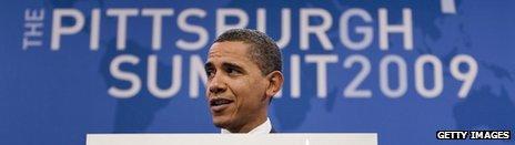 Barack Obama in Pittsburgh