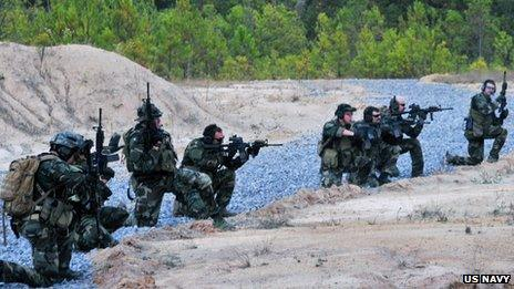Navy Seals on operations