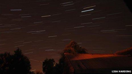 Meteor in Woking, Surrey