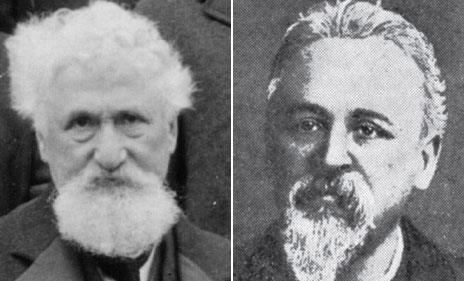 Hiram Maxim and William Cantelo