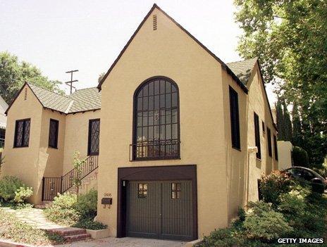 Walt Disney's former home on Lyric Avenue, Silverl Lake