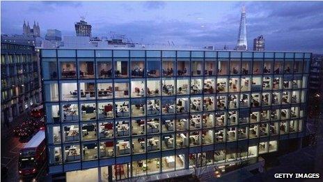 Office block in London
