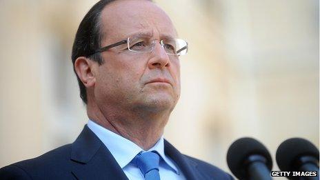 Francois Hollande (29 August 2013)