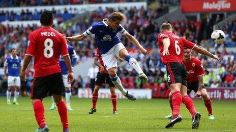 Caerdydd v.Everton