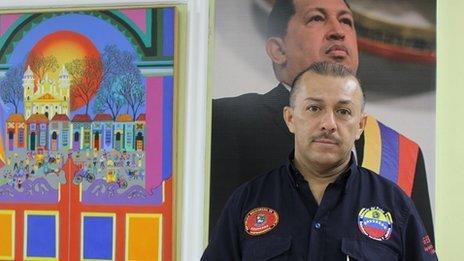 Jaire Ramirez, the police chief in Zulia state