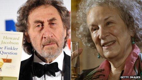 Howard Jacobson and Margaret Atwood