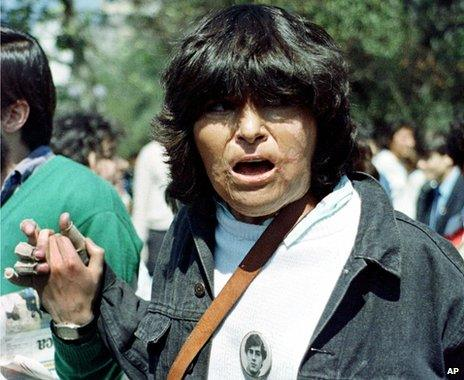 Carmen Quintana in 1989