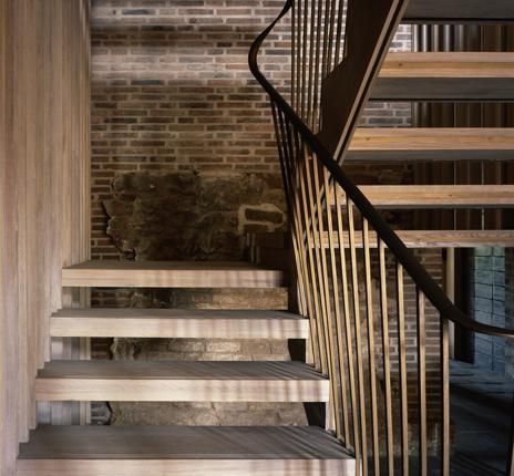 Astley Castle stairwell