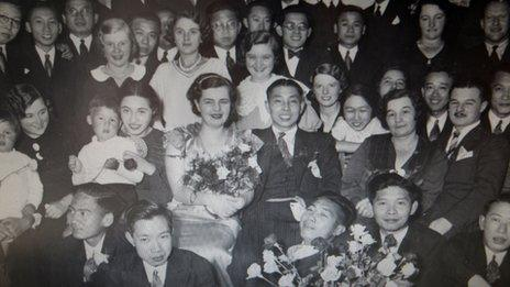 While researching his family, Huihan Lie found this photo of a relative