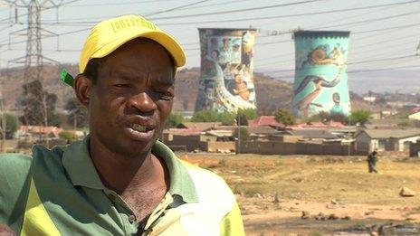 Ephraim Radebe, a recovering addict