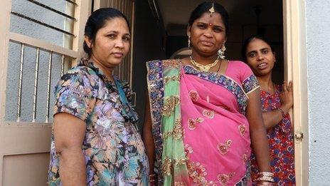 Three surrogate mothers